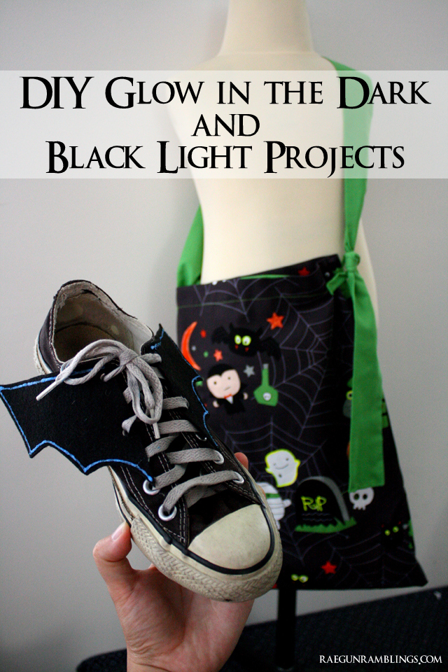 Great glow in the dark and black light projects to make at home that really glow! Rae Gun Ramblings