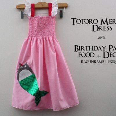 Mermaid Totoro Party and Dress