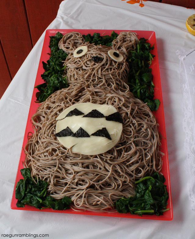 Noodles in the shape of Totoro! Rae Gun Ramblings