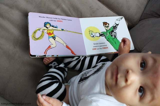 Super Hero Busy Bodies and other awesome books for baby - Rae Gun Ramblings