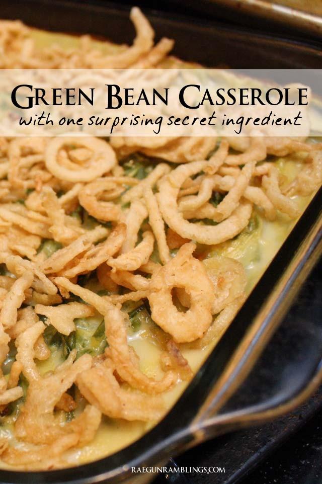 THis is my go to green bean casserole recipe. Rae Gun Ramblings