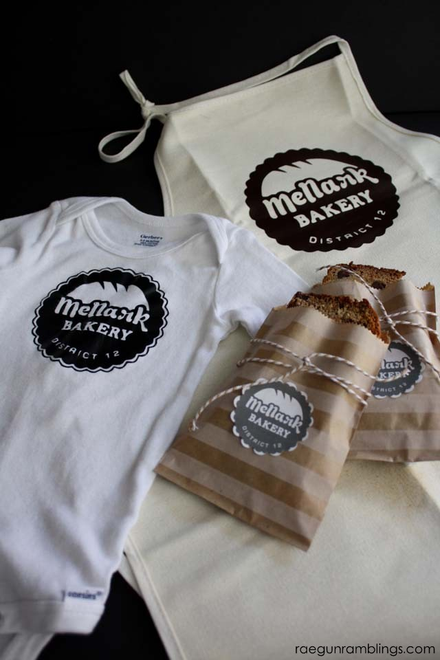 Mellark Bakery stencil/printable and great Hunger Game craft ideas - Rae Gun Ramblings