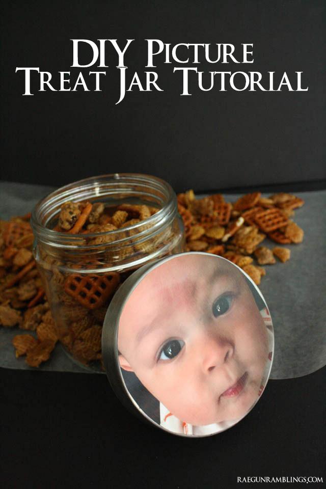 Photo Treat jar tutorial - Rae Gun Ramblings