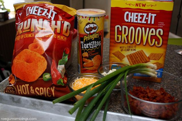 Cheez-It Nachos ingredients and recipe - Rae Gun Ramblings