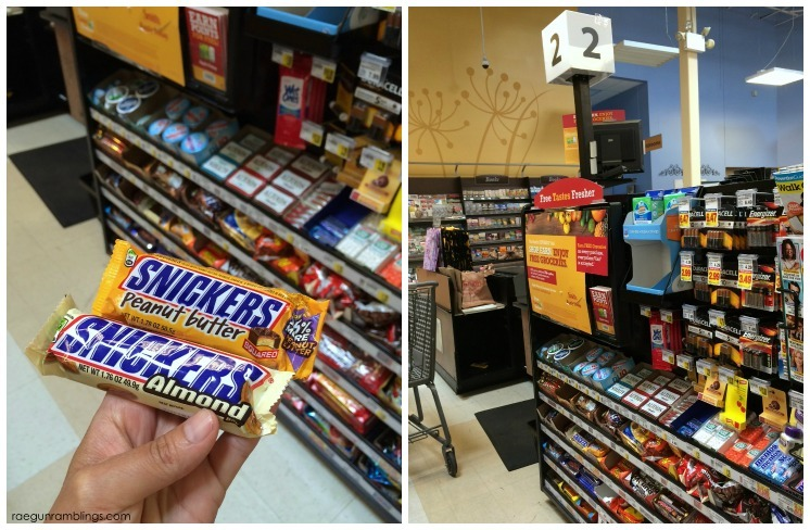 SNICKERS Peanut Butter Squares and SNICKERS Almond