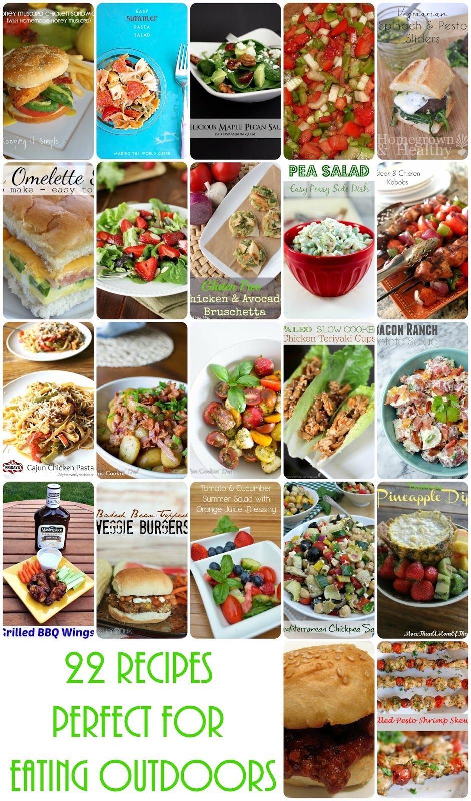 Recipes for Eating Outside