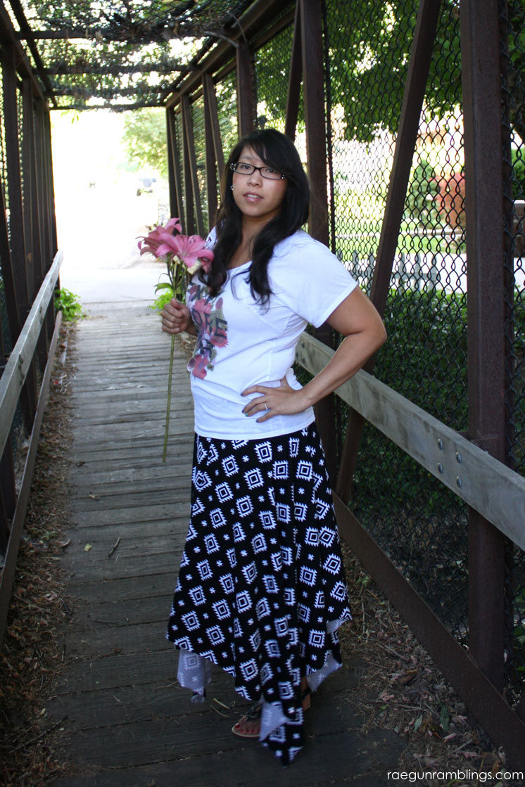 quick and easy square maxi skirt tutorial just 2 steps and 15 minutes