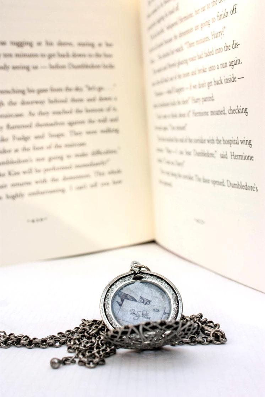 DIY Harry Potter Owl Post Locket Necklace