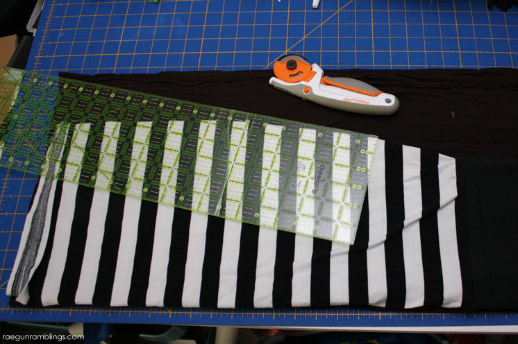 How to make an Aline skirt pattern