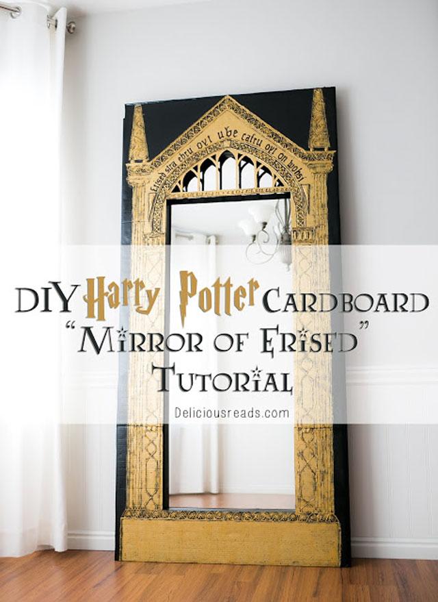 diy harry potter Mirror-of-Erised tutorial