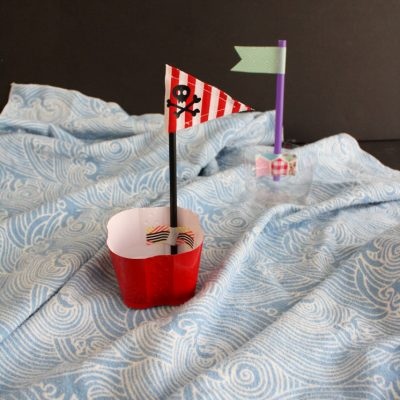 Easy Plastic Cup Pirate Boat Tutorial