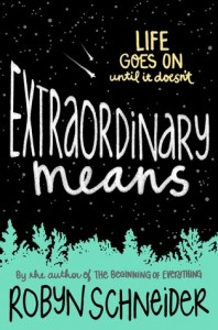extraordinary means book review. this sounds really good