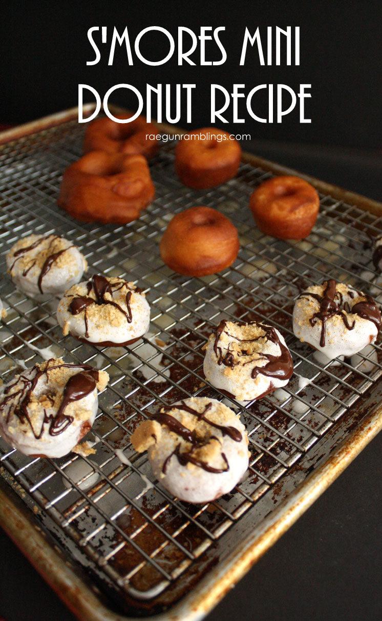 Easy mini S'mores Donut recipe