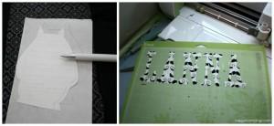 How to make a fabric applique