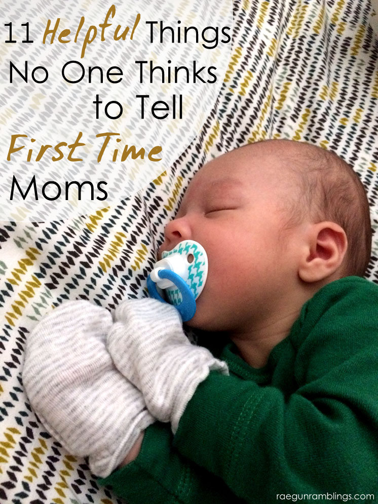 Yes! Totally agree. I wish I knew all of these when I was pregnant. Great tips for first time moms.