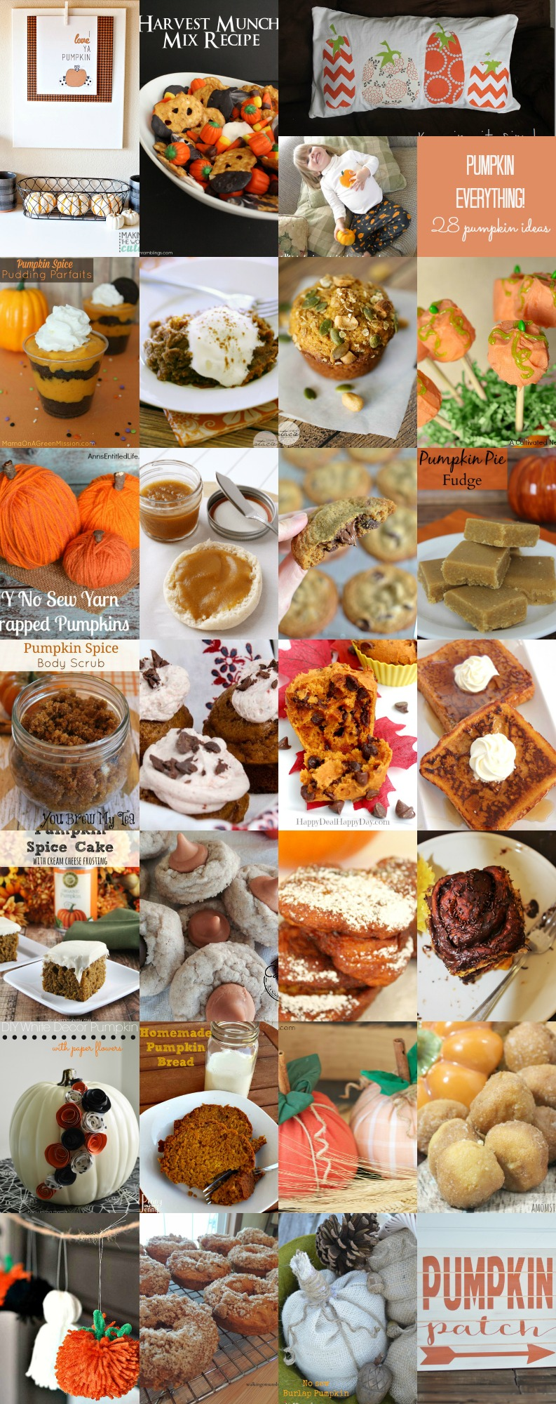 Pumpkin-Everything awesome recipes crafts diys and more perfect for Halloween or thanksgiving