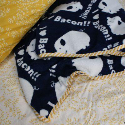 30 Minute EASY Blanket Tutorial