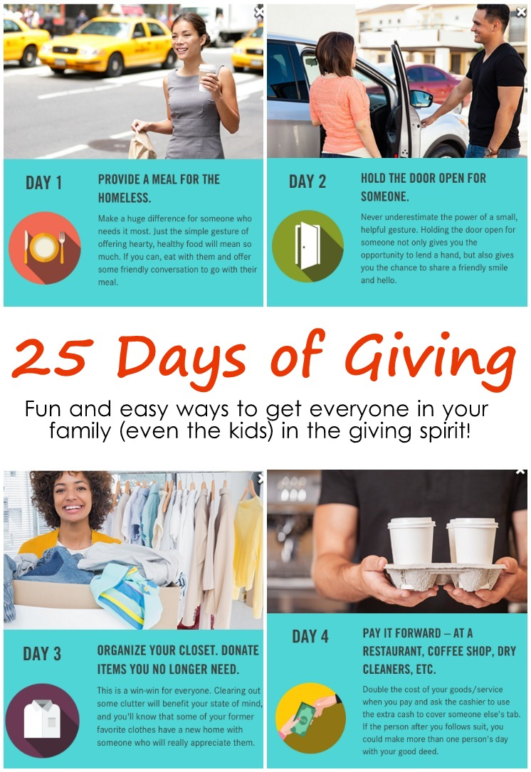 How to make a DIY Giving advent calendar and great activities to include