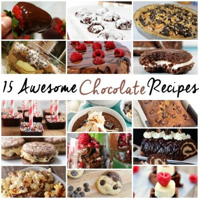 15 Awesome Chocolate Recipes and Block Party