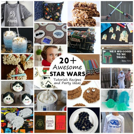 TONS of free star wars ideas. Great recipes party ideas, craft tutorials and more