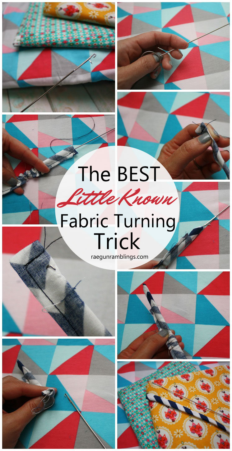 This is the best everyone who sews needs to know about this. Makes spaghetti straps and other sewing projects so easy - Rae Gun Ramblings