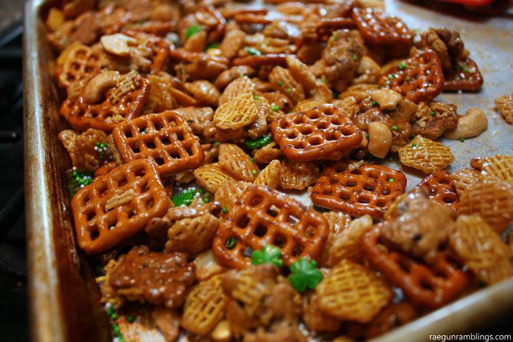 Super delicious chex mix recipe - raegunramblings.com