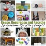 Creative ways to reuse, repurpose and recycle. 12 great DIY upcycling projects and tutorials.
