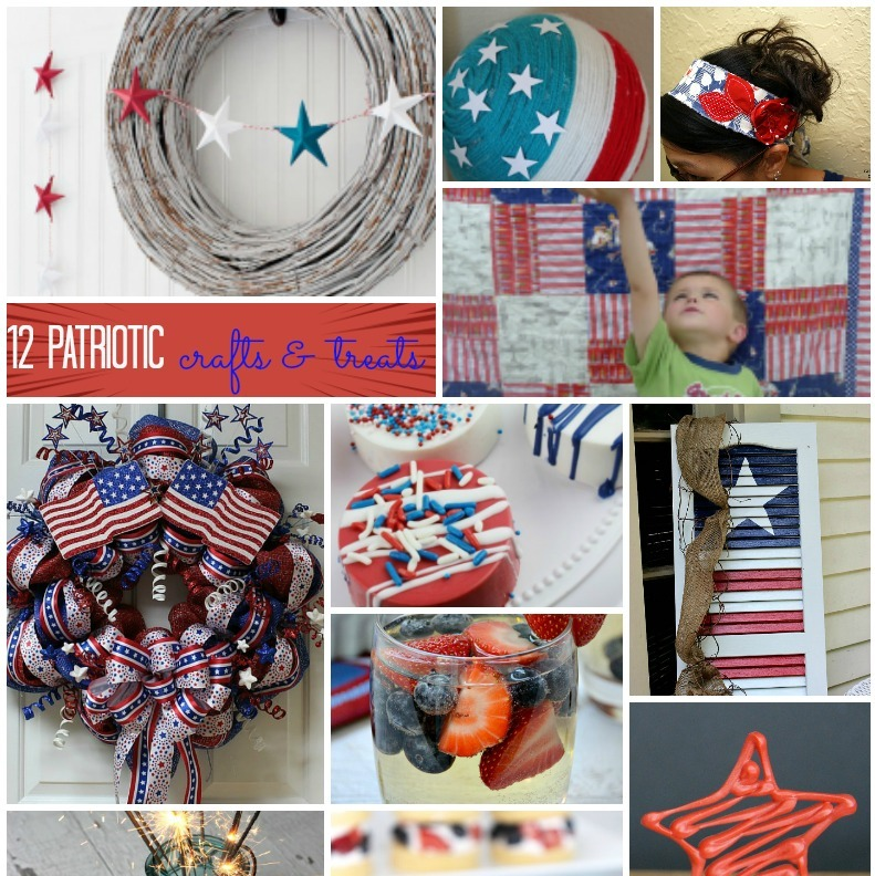 Celebrate memorial day and fourth of july in style with these awesome patriotic crafts and recipes