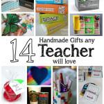 Love these diy teacher gift ideas. Handmade tutorials for gifts any teacher will love