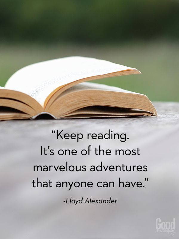 keep reading. it's one of the most marvelous adventures that anyone can have