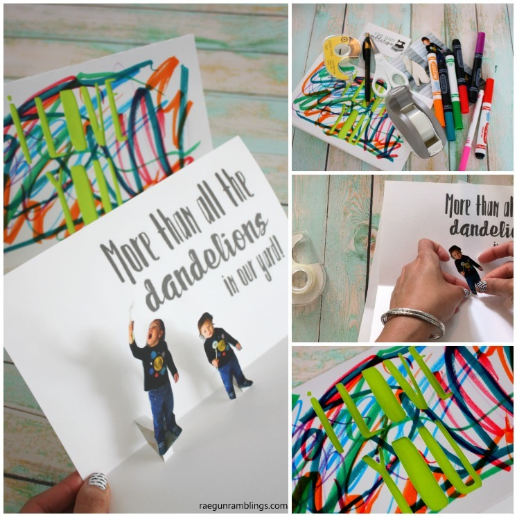 How to make a photo pop up card in just 15 minutes. Great DIY craft tutorial