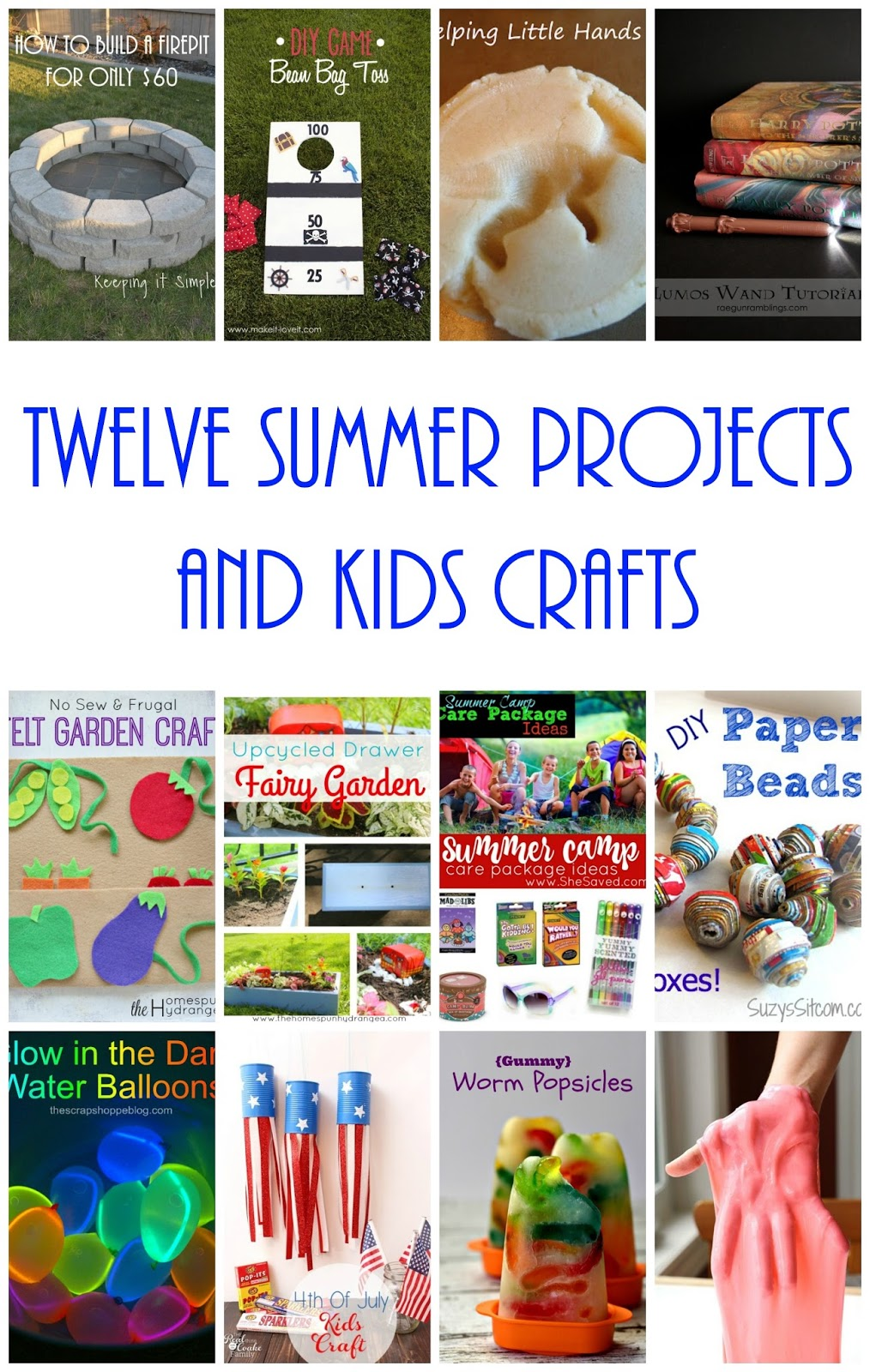 12 crafts and projects to do this summer