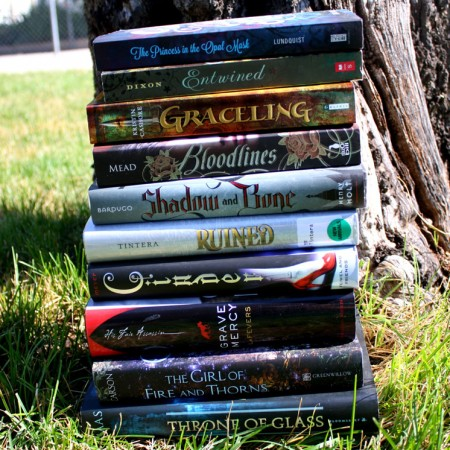 20+ YA books full of princess, princesses, castle life and other fun. Great royal reads