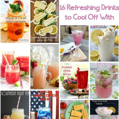 16 Refreshing Drink Recipes and Block Party