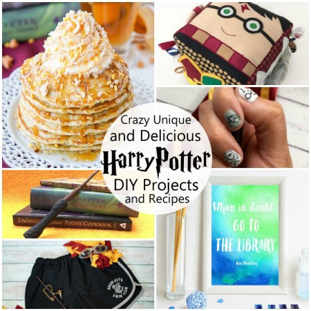 So many awesome unique harry Potter tutorials and projects. Pancakes, baby activity toys, art and even sewing projects