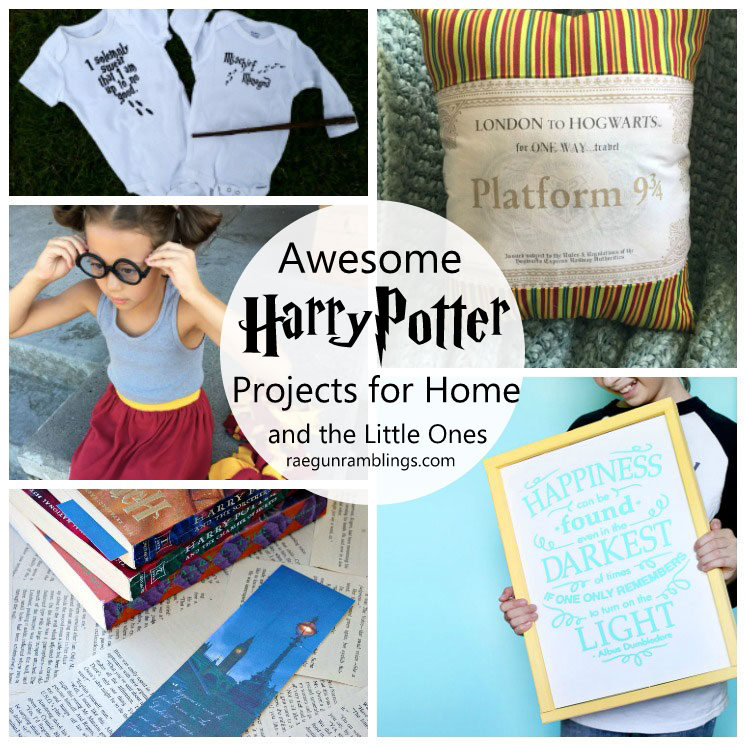 Awesome harry potter items to make for the home and kids