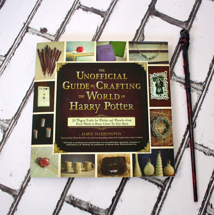 Darling book full of Harry Potter crafts. This would make a great gift and tons of fun kid activities for the Summer or Winter break.
