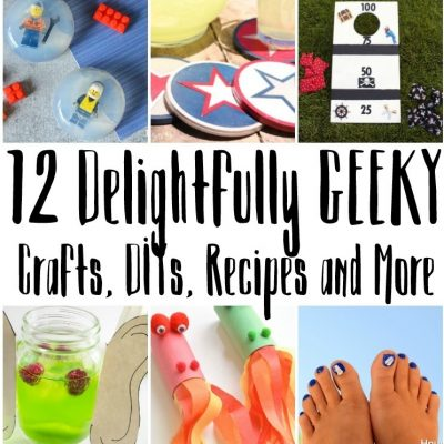 12 Delightfully Geeky Crafts and Recipes and Block Party