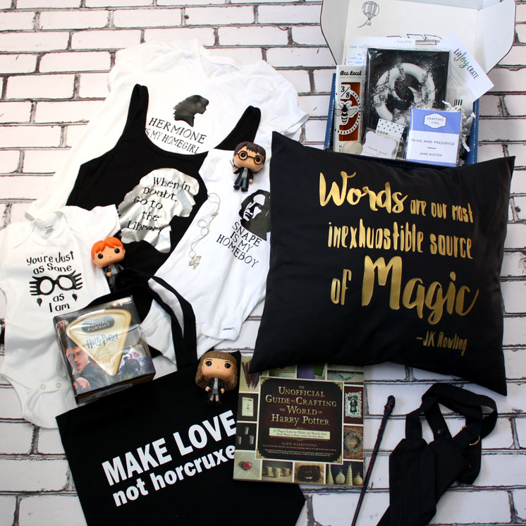 So many awesome Harry Potter gift ideas. Great for readers