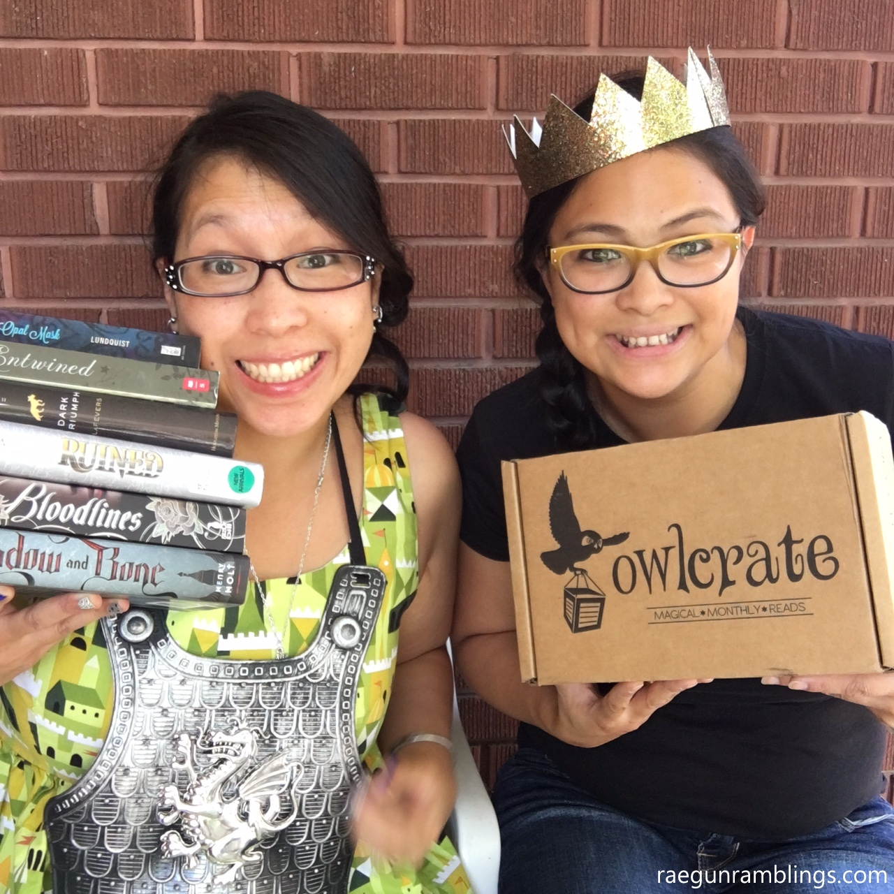 Owl Crate young adult literature bookish subscription box this sounds awesome and like a great gift idea.