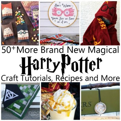 50+ MORE Magical Harry Potter Projects