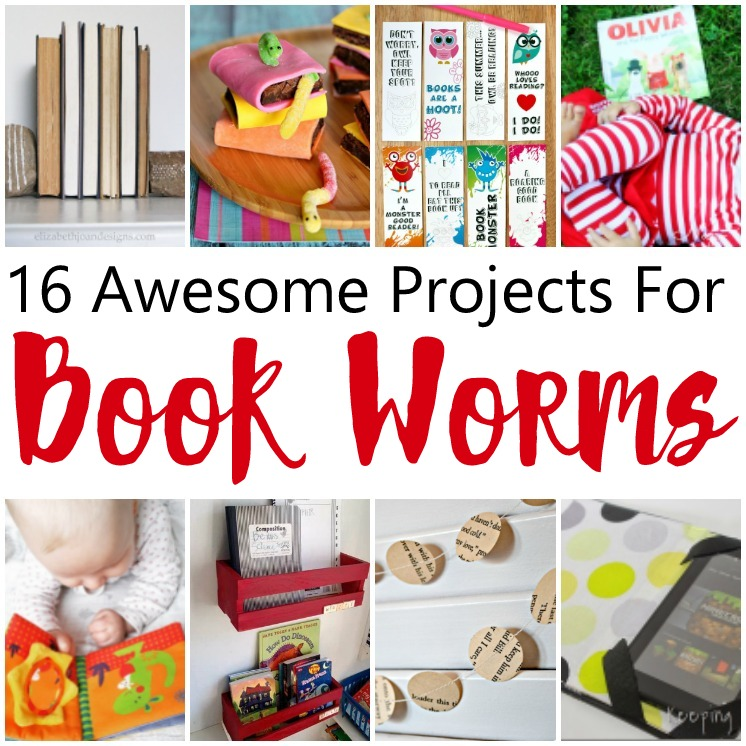 Great projects and reading lists for book worms. Lots of book crafts and book inspired kid activities