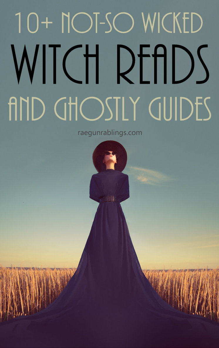 Over 10 awesome witch and ghosts books for teens and young adults. Great ghost and witch book list perfect for Halloween (or really any time of year)