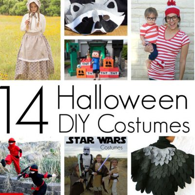 14 DIY Halloween Costumes and Block Party