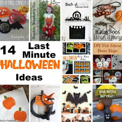 14 Last Minute Halloween Ideas and Block Party