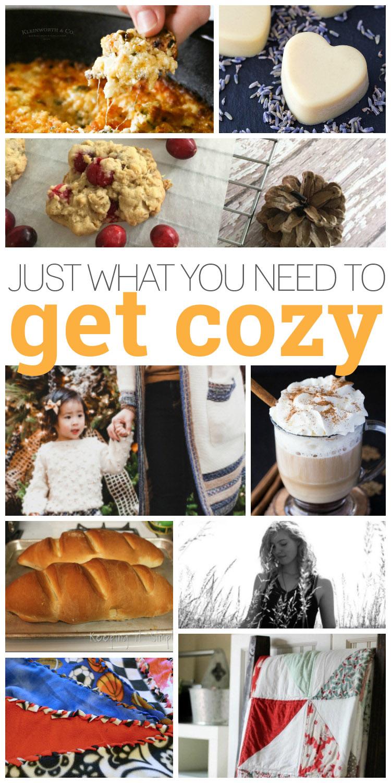 Ways to get cozy. Tutorials, recipes and diys