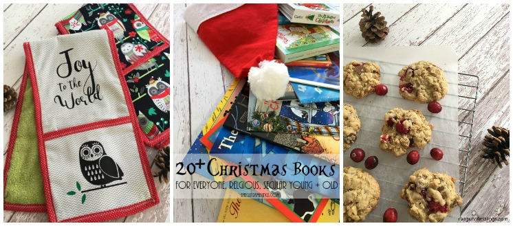 Great christmas books, crafts and recipes