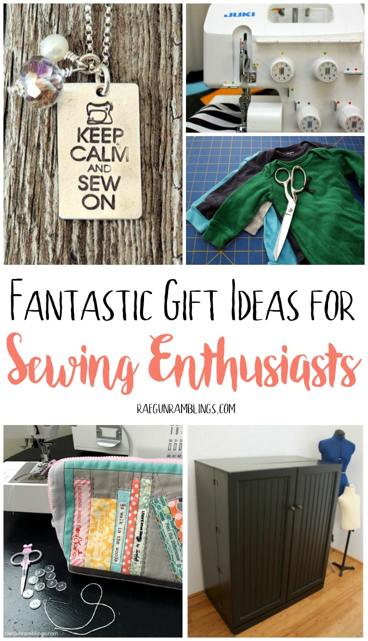 So many great gifts that sewing people will love. Great crafty gift guide.