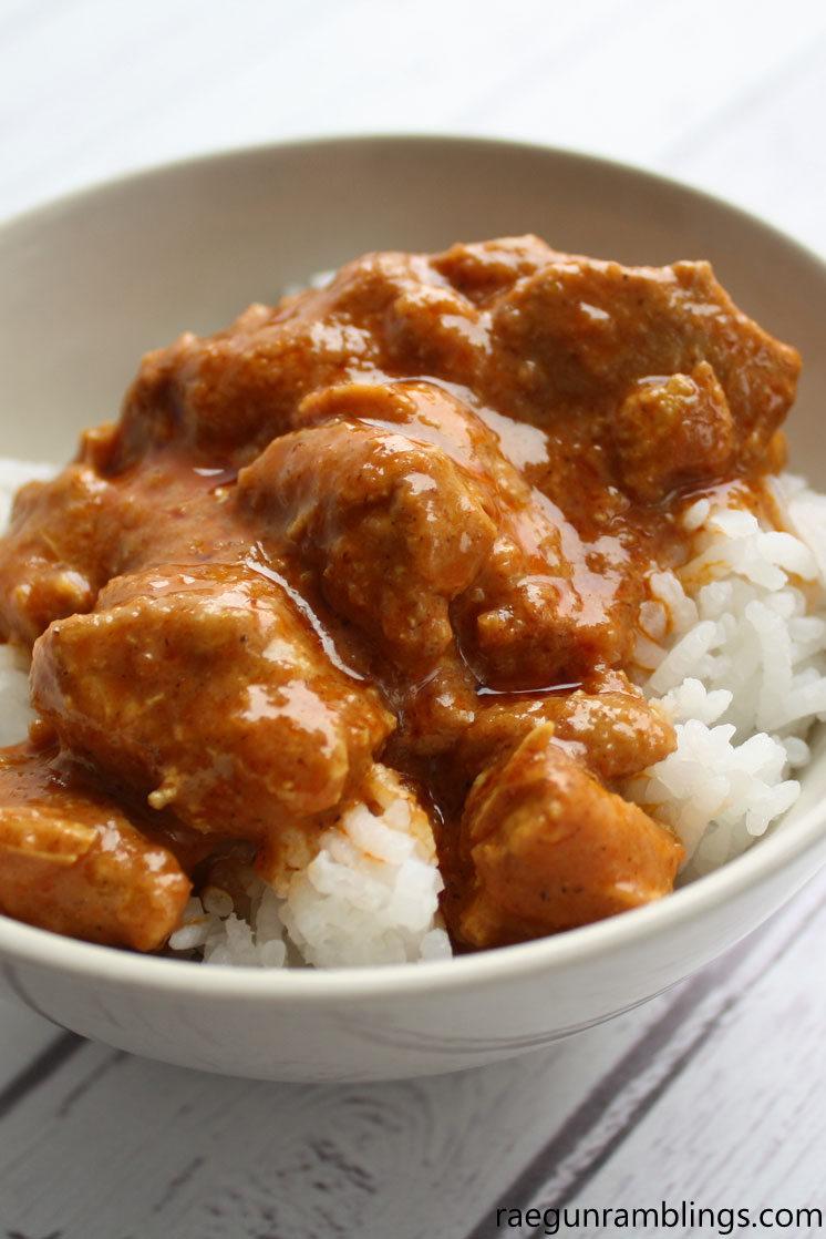 Hands down the best Instant Pot Butter Chicken Curry Recipe great weeknight dinner