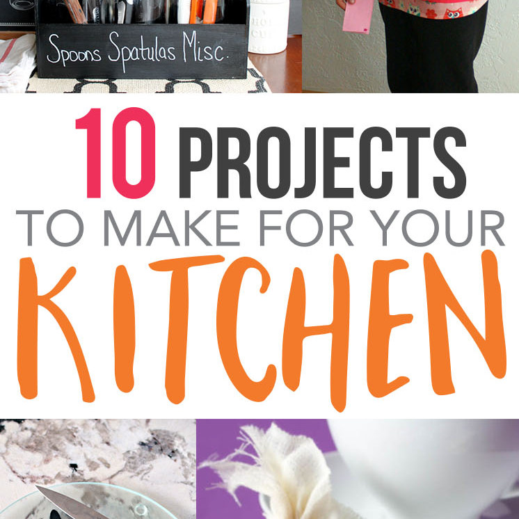 kitchen diy projects great for cooking fans